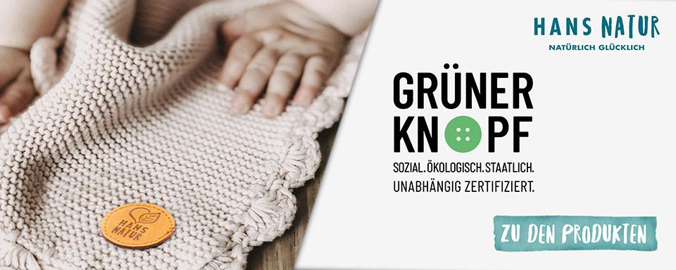 Hans Natur Grüner Knopf